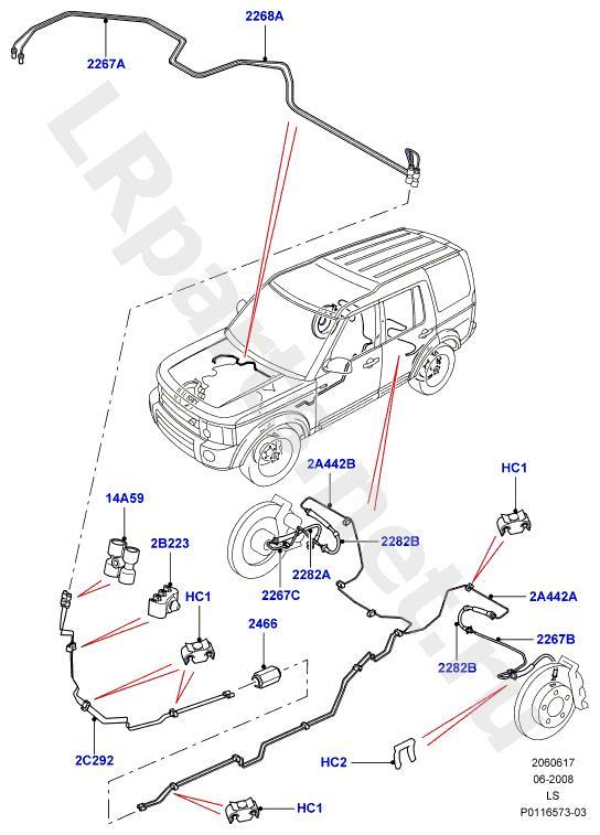 land rover range belt diagram