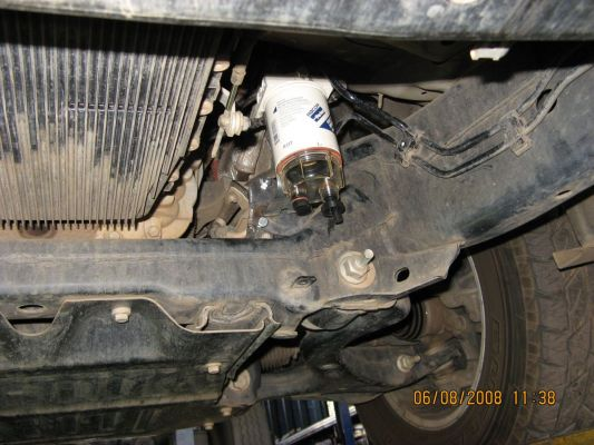 DISCO3.CO.UK - View topic - Fuel Filter replacet on 2005 D3