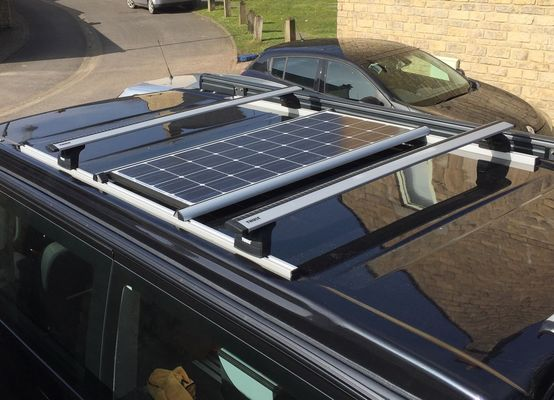 Installation Of Solar Panel Fitted To Roof Bars Page 2