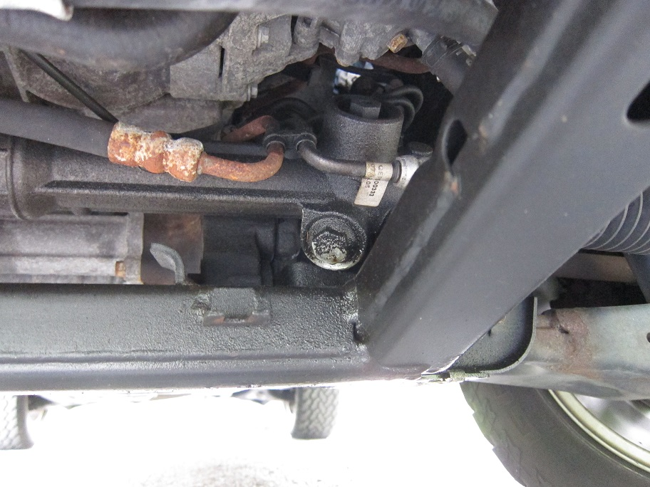 Steering rack leaking fluid - Land Rover Forums - Land Rover