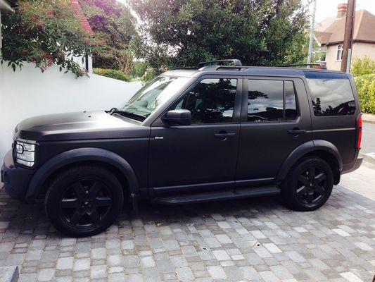 Disco3 Co Uk View Topic My Satin Black Wrapped Lr3