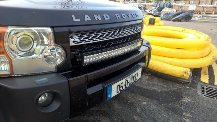 Disco3 Co Uk View Topic Led Light Bar Fitted